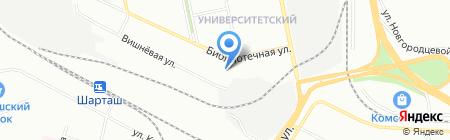 Барбекю-Урал на карте Екатеринбурга
