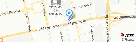 Облачные решения на карте Екатеринбурга