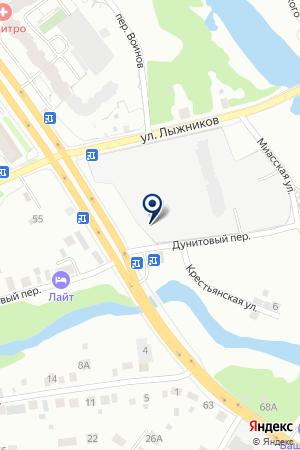 МЕЛКООПТОВАЯ БАЗА ПТИЦЕФАБРИКА РЕФТИНСКАЯ на карте Екатеринбурга