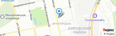 Аура Комплексные Системы на карте Екатеринбурга