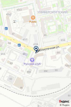 Адамант на карте Екатеринбурга