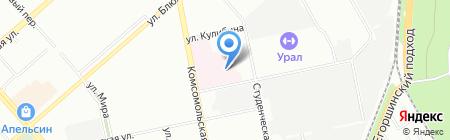 Поликлиника №4 на карте Екатеринбурга