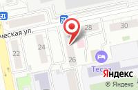 Схема проезда до компании Этнографическое Бюро в Екатеринбурге