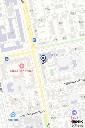 Сауна вКировском районе на карте Екатеринбурга