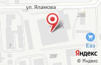 Схема проезда до компании Оферта в Екатеринбурге