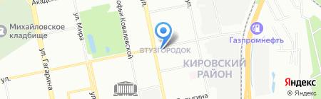Институт иммунологии и физиологии УрО РАН на карте Екатеринбурга
