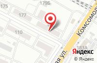 Схема проезда до компании Горизонт-Авиа в Екатеринбурге