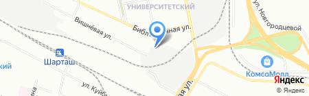 СтройКровФасад на карте Екатеринбурга