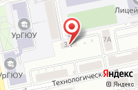 Схема проезда до компании Рекламная Фирма «Аккорд» в Екатеринбурге