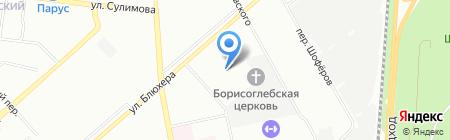 Девятый трест-Екатеринбург на карте Екатеринбурга