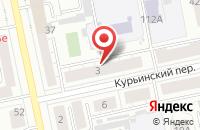 Схема проезда до компании Калейдоскоп в Екатеринбурге