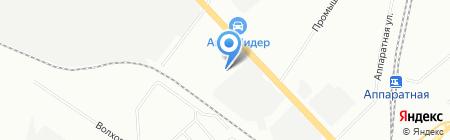 Аплинк на карте Екатеринбурга