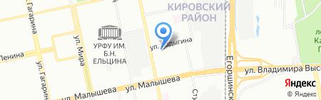 Спецмонтажстрой на карте Екатеринбурга