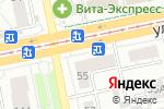 Схема проезда до компании Суши Wok в Екатеринбурге