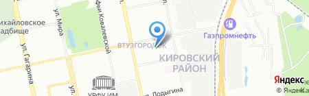 Детский сад №255 на карте Екатеринбурга