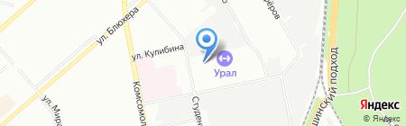 Библиотека №9 на карте Екатеринбурга