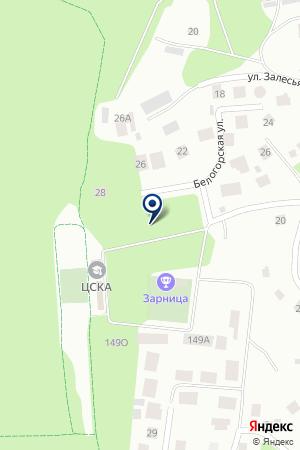 Зарница на карте Екатеринбурга