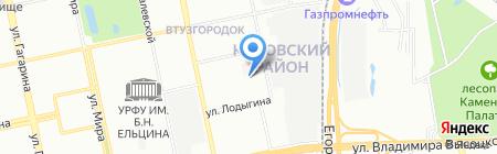 Уралпак плюс на карте Екатеринбурга