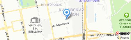 Почтовое отделение №49 на карте Екатеринбурга