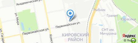 Агентство ИНФОРМТРАНС на карте Екатеринбурга