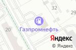 Схема проезда до компании Transline в Екатеринбурге