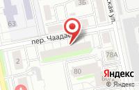 Схема проезда до компании Энт в Екатеринбурге