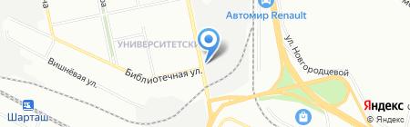 Шашлычная 73! на карте Екатеринбурга