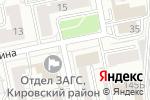 Схема проезда до компании Виктория в Екатеринбурге