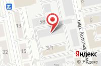 Схема проезда до компании Форум в Екатеринбурге