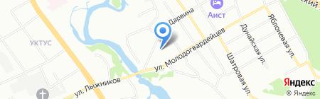 Специальная (коррекционная) школа-интернат №56 для детей с ограниченными возможностями здоровья на карте Екатеринбурга