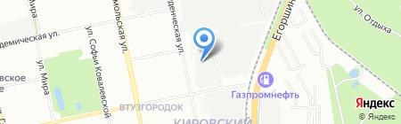 Инженерный центр энергетики Урала на карте Екатеринбурга