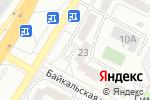 Схема проезда до компании Живика в Екатеринбурге
