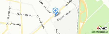 Uponor на карте Екатеринбурга