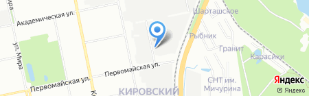 ПРАКТИКА на карте Екатеринбурга