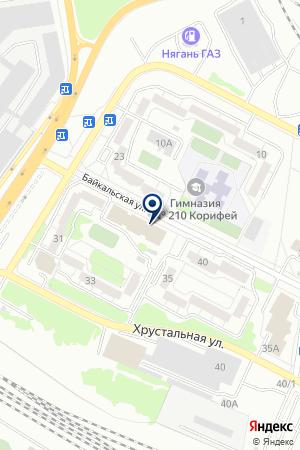 Лазурит на карте Екатеринбурга