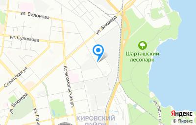Местоположение на карте пункта техосмотра по адресу г Екатеринбург, ул Раевского, стр 13