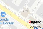 Схема проезда до компании SILVERSTONE DETAILING в Екатеринбурге