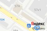 Схема проезда до компании ЕК-Прим в Екатеринбурге