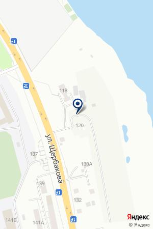 Военно-охотничье общество Стрелково-стендовый комплекс на карте Екатеринбурга
