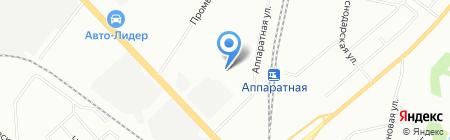 Информ-Авто на карте Екатеринбурга