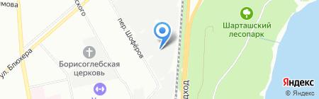 НТК на карте Екатеринбурга