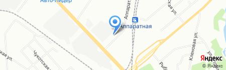 Шате-М Плюс на карте Екатеринбурга