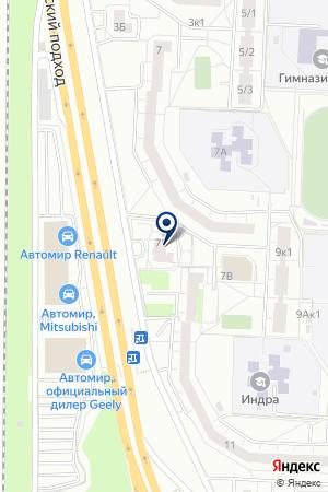 Этюд на карте Екатеринбурга