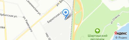 УралВторЛайн на карте Екатеринбурга