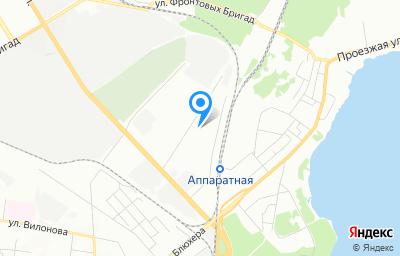 Местоположение на карте пункта техосмотра по адресу г Екатеринбург, проезд Промышленный, стр 6