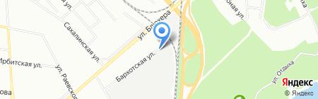 Албис плюс на карте Екатеринбурга