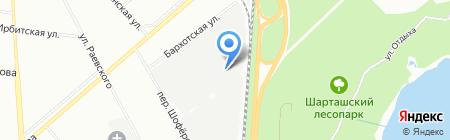 Море задвижек на карте Екатеринбурга