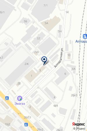 Регион-Мебель на карте Екатеринбурга