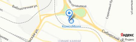 La fontana на карте Екатеринбурга