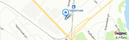Альтаир на карте Екатеринбурга